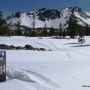 Cross-country skiing at Lassen2