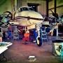 King Air in maintenance